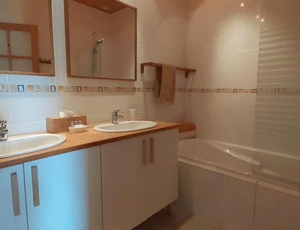 La Chambre Tilleul - Salle de bains